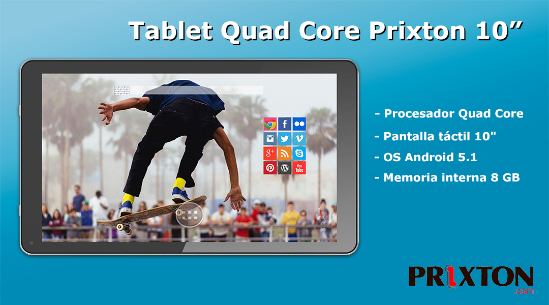 Tablet Quad Core Prixton 7""