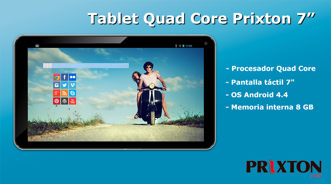 Tablet Quad Core Prixton 10""