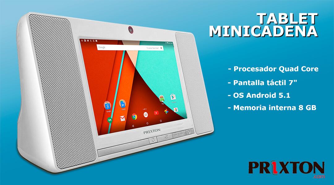 """Tablet Minicadena Prixton 7"""""""
