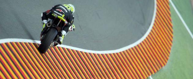 Toni El�as, en acci�n en el trazado de Sachsenring. Foto: MARCA