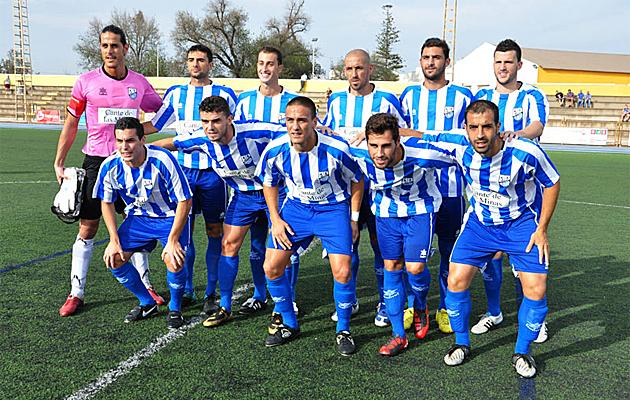 Formaci�n del Caravaca F�tbol La Uni�n./FOTO: P�gina web del CF La Uni�n