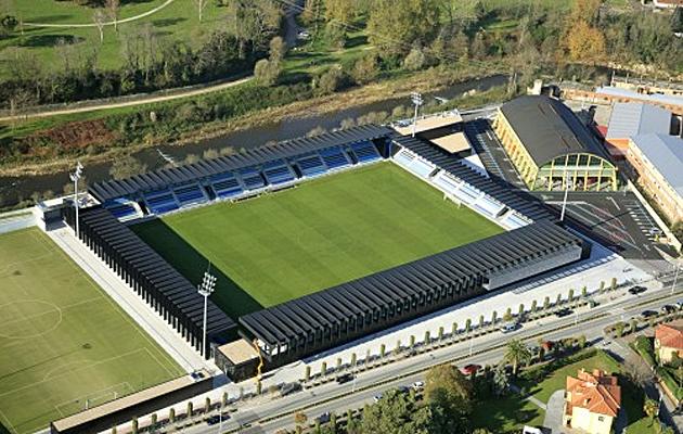 Imagen a�rea del estadio del nuevo Malec�n de la Gimn�stica.