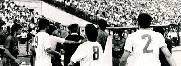 La tangana de la final de Copa de 1988