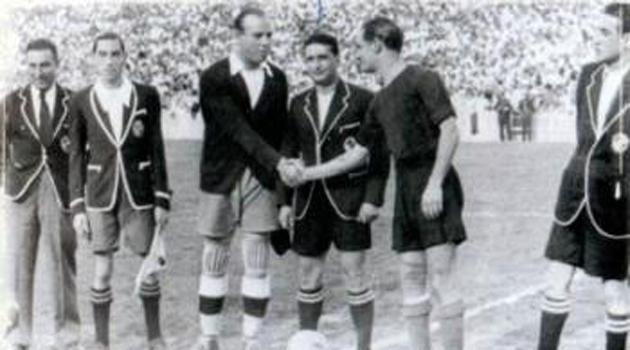 Final de Copa en 1936 entre Madrid y Barcelona en Valencia