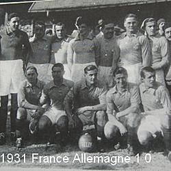 El equipo francés que ganó 1-0 a Alemania
