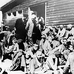 El barrac�n hospitalario de Mauthausen