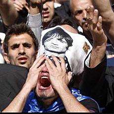 Funeral de Nasser Hejazi