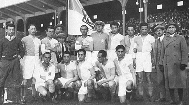 El equipo campeón en 1925