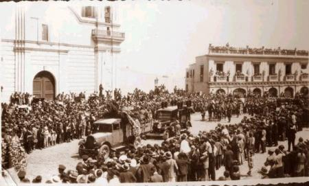 Funeral de S�nchez Carro en Lima