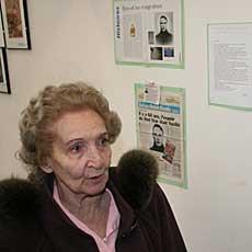 Inés Tonsi, el enlace de Della Negra.