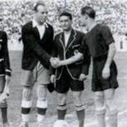 Zamora y Ventolr�, antes del partido (Foto Real Madrid C.F)