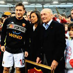 Losi y Totti (forzaroma.news)