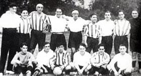 El Athletic campe�n de Copa en 1923.