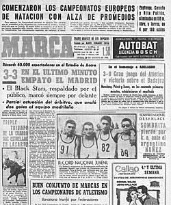 Portada de MARCA el d�a que el Madrid inicia el viaje