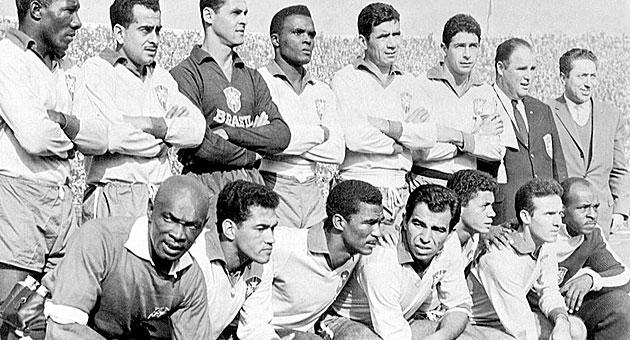 El Brasil campeón del mundo en Chile 1962 / AFP