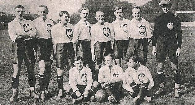 La selecci�n polaca de 1924 / oncenasdefutbol.blogspot.com