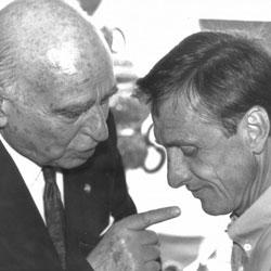 Nicolau Casaus con Cruyff